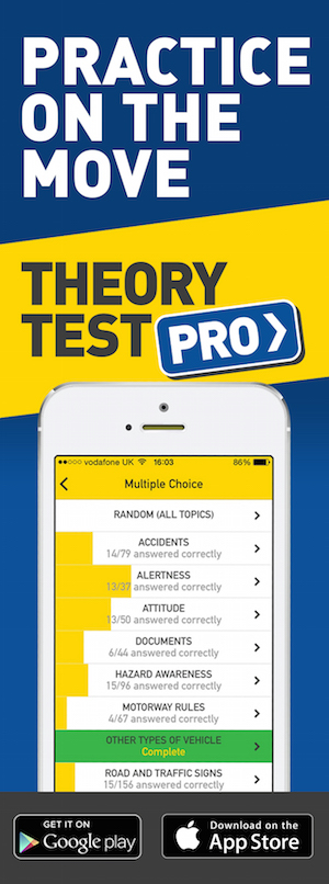 Theory Test Pro in partnership with Learn with Louise